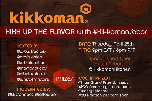 #KikkomanSabor Twitter Party