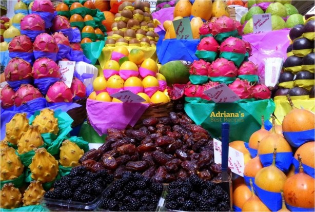 Photo taken at Mercado Municipal in Sao Paulo, Brazil nothing like fresh produce!