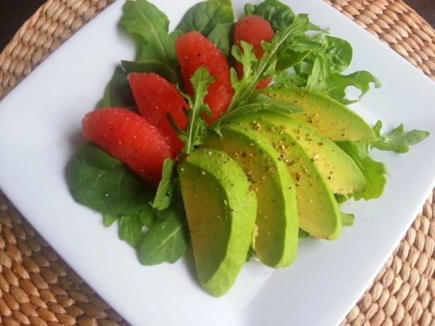 Healthy salad using creamy delicious Avocados from Mexico #ILoveAvocados