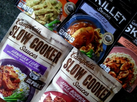 Campbell's Skillet Sauces #CampbellSauces #ad