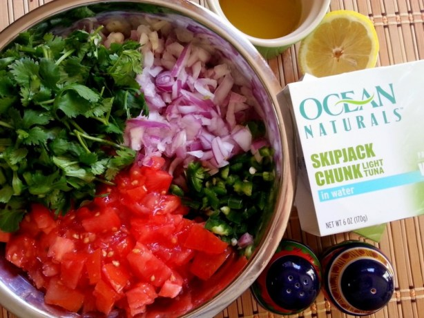 How to prepare Skipjack Tuna Tostadas