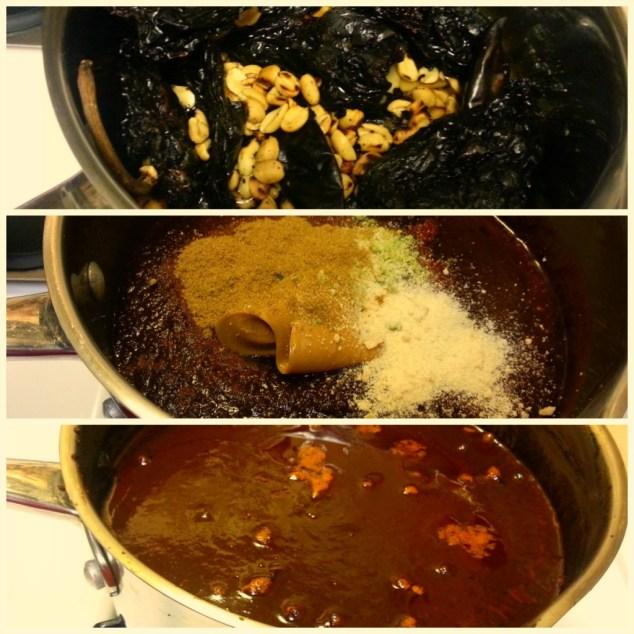 Process for Making Mole #ABRecipes