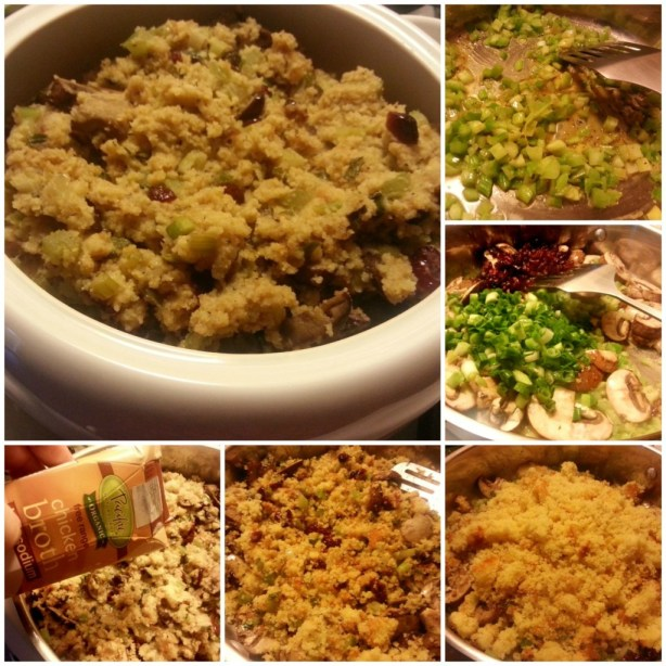 How to make Homemade Cornbread Stuffing #ABRecipes