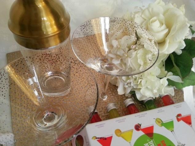 Martini Glasses and Shaker #TargetWedding