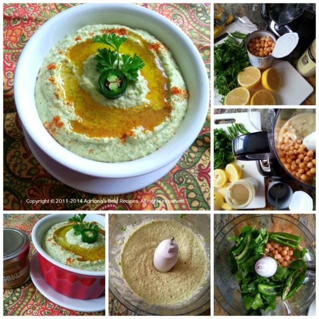 How to prepare Jalapeño Hummus #ABRecipes