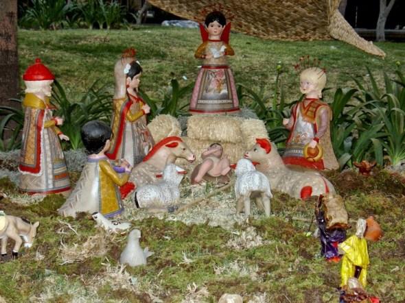 Nacimiento Nativity Scene #ABRecipes