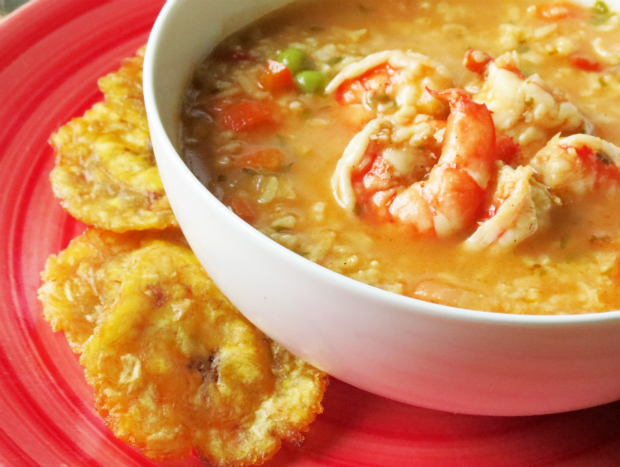 Shrimp Asopao, Hungry Food Love original recipe. Photo credit: Melissa Bailey