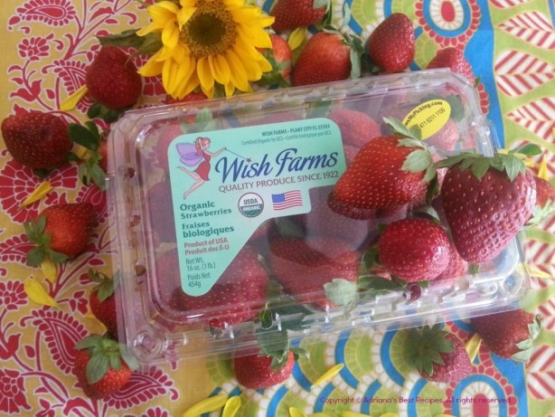 Wish Farms Organic Strawberries #WishFarms