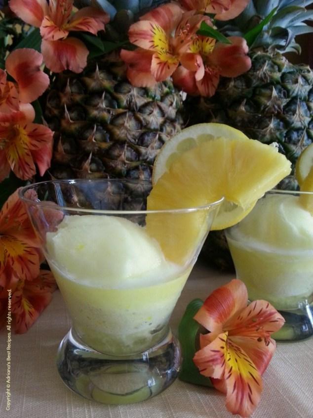 Frozen Pineapple Margarita for Earth Day Celebration #CasaNobleTequia #ABRecipes