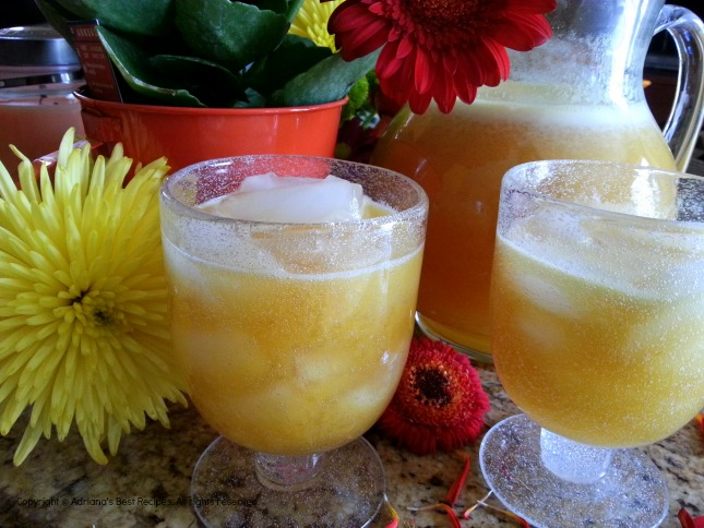 Passion Fruit Agua Fresca a treat for everyone in the family #ABRecipes
