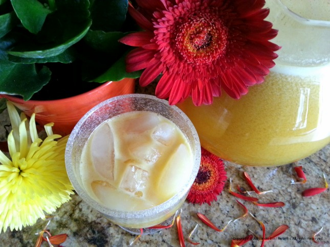 Simple recipe for Passion fruit Agua Fresca #ABRecipes