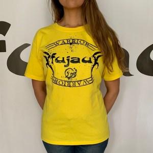Adult Mens Yellow Fujau Warrior T-Shirt