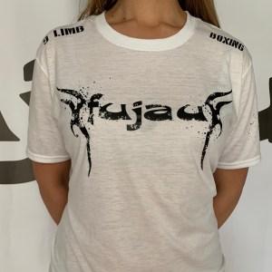 Adult Ladies White Fujau 9 Limb Boxing T-Shirt