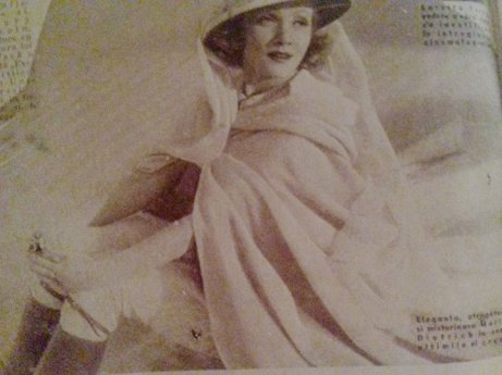 Marlene Dietrich, inconfondabilă