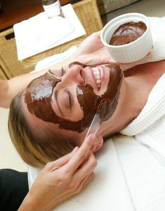 Máscara de chocolate_rosto