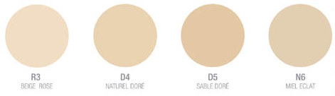 cores base mineral loreal
