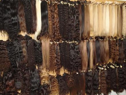cabelo humano - aplique