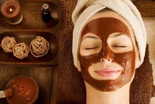 Máscara de Chocolate para o rosto