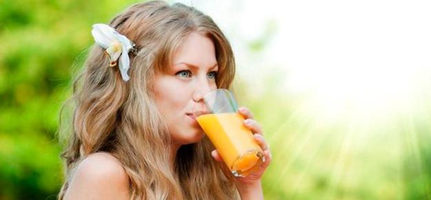 Receita de suco para fortalecer o cabelo