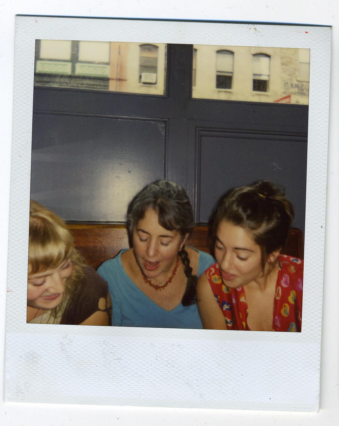 Hilary, Jamie and Sam