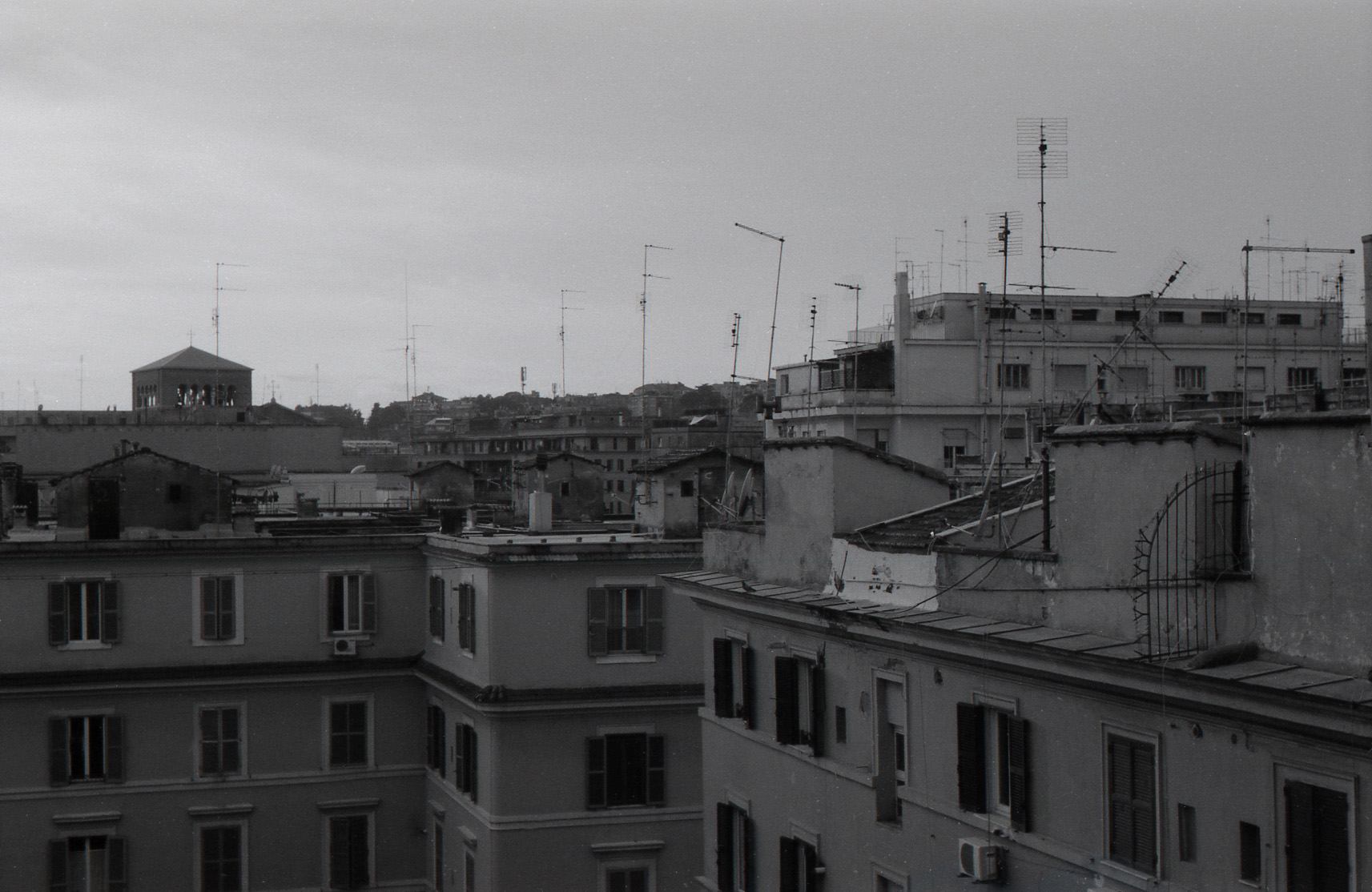 View from Sonya's Apartment, Trastevere