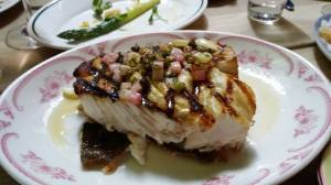 Halibut steak