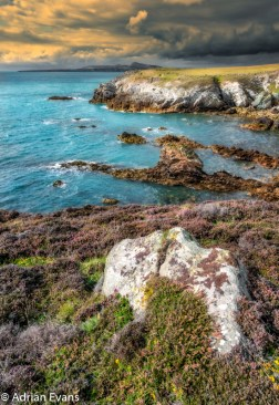 Rhoscolyn Head is a coastal feature located on Holy Island, Anglesey, Wales.