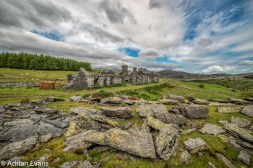 Rhos quarry barracks Capel Curig. Snowdonia National Park. North Wales.UK