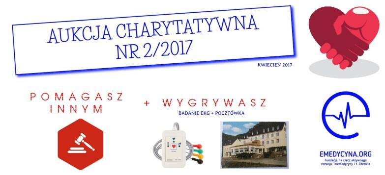 Aukcja charytatywna nr 2 (2017) fundacja e-medycyna