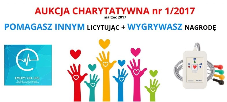 Aukcja charytatywna nr 1 (2017) fundacja e-medycyna