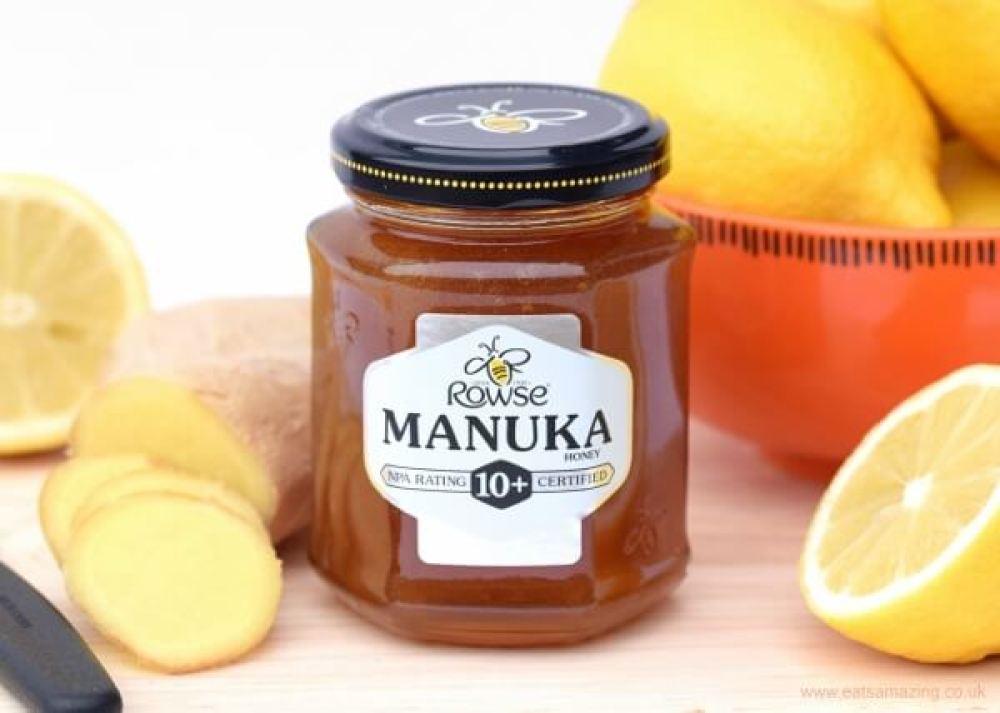 O mel obtido a partir da polinização das flores de Manuka é muito comercializado em países como Inglaterra. Nova Zelândia e Austrália. Imagem: eatsamazing.co.uk