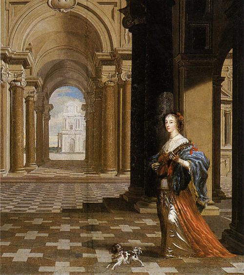 Cornelius Johnson, Ritratto della Regina Henrietta Maria