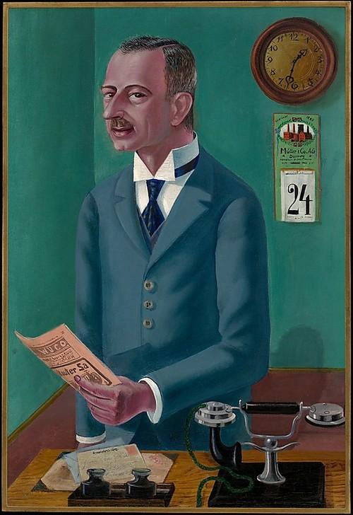 Otto Dix, L'uomo d'affari (il capitalista) Max Roesberg, 1922