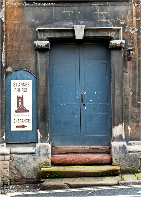 Church door?