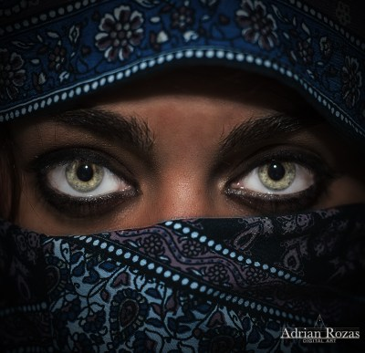 Fotografía Ojos Árabes
