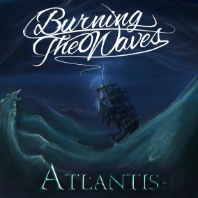 Diseño Ilustracion Album Burning the Waves