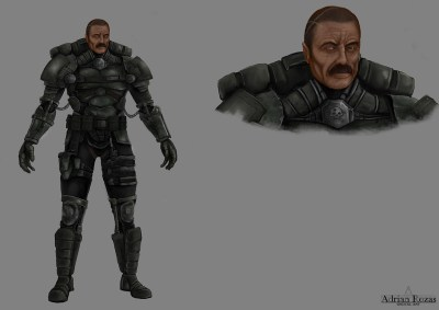 Concept Art Marcus Jet Assault