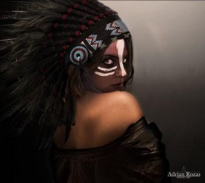 Fotografía India Apache