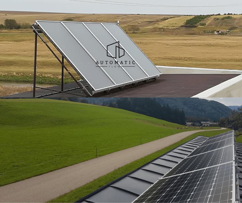 Panouri solare termice sau fotovoltaice in combinatie cu pompa de caldura?