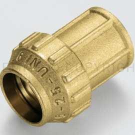 "Racord drept cu inel din alama cu compresie pentru tub PE/PEHD/PEX O 25- 3/4"" FI – 3400010"