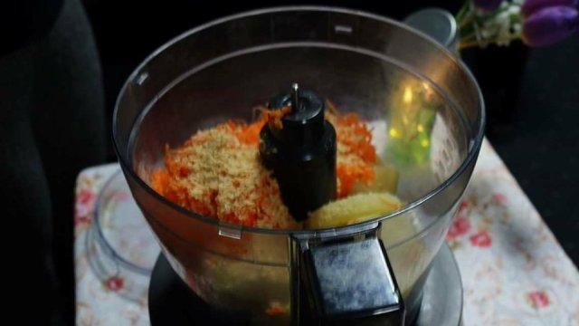 pate de morcov ingrediente
