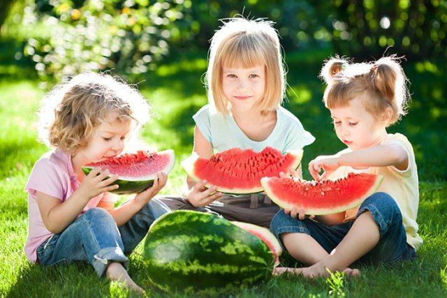 Pepenele roșu pentru copii