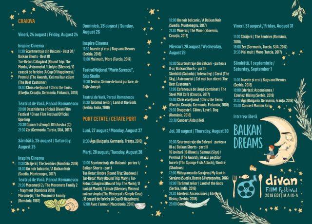 Divan Film Festival Program