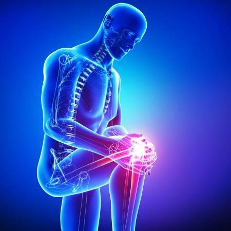 Durere seaca de la genunchi in jos