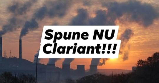 Împotriva fabricii de Bioetanol - Spune nu Clariant