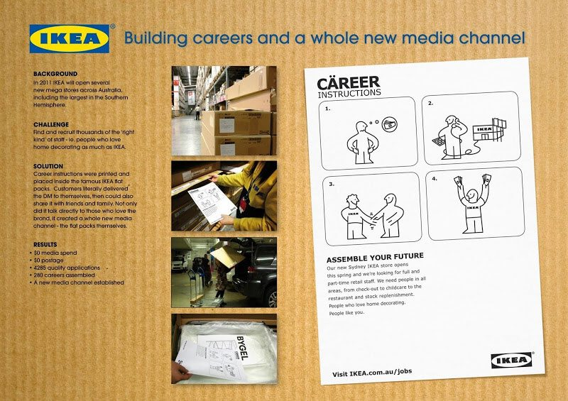 IKEA Career Instruction