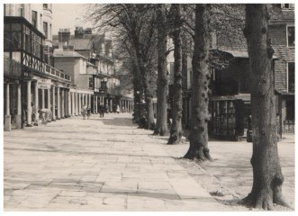Original photograph of the Pantiles circa 1960.