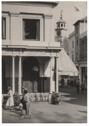 Original photograph of the Chalybeate Spring circa 1960.