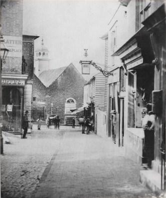 Original Photograph of Chapel Place circa 1860.
