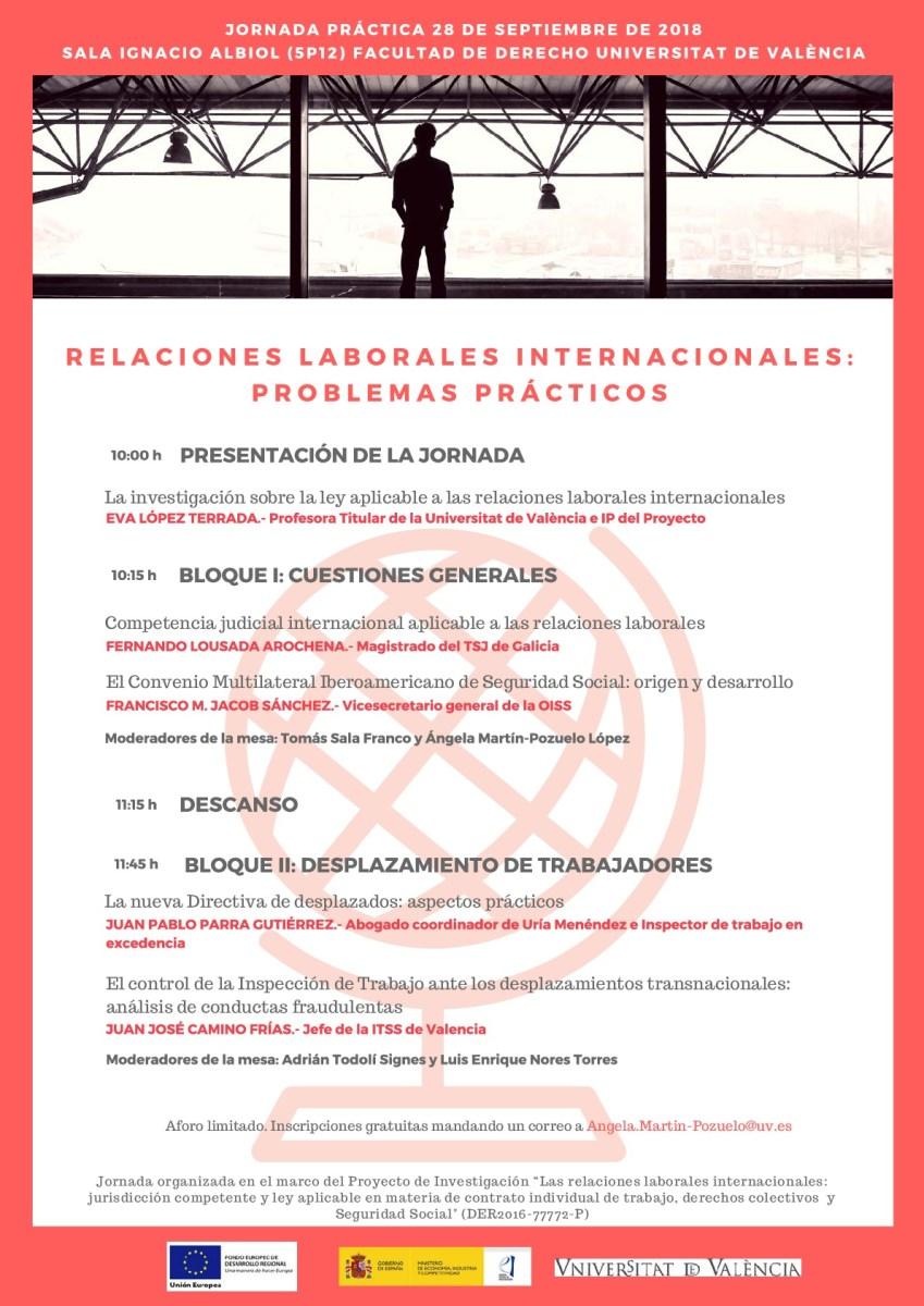 Jornada sobre Relaciones Laborales Internacionales (Incluye los Vídeos)
